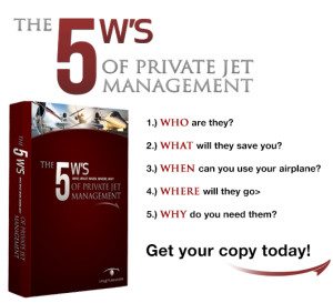 The 5 Ws of Private Jet Management eBook